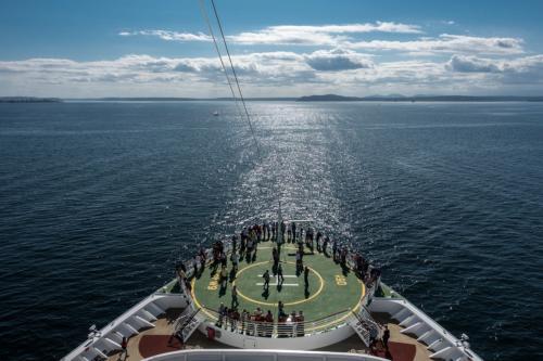 Jewel of the Seas: Beginn der Kreuzfahrt