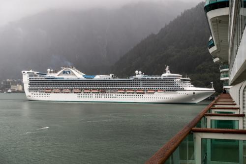"Die ""Golden Princess"" in Juneau"