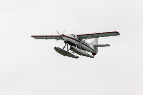 Wasserflugzeug in Juneau