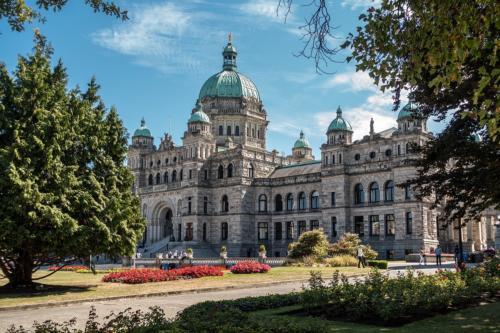 Parlament in Victoria (BC, Kanada)