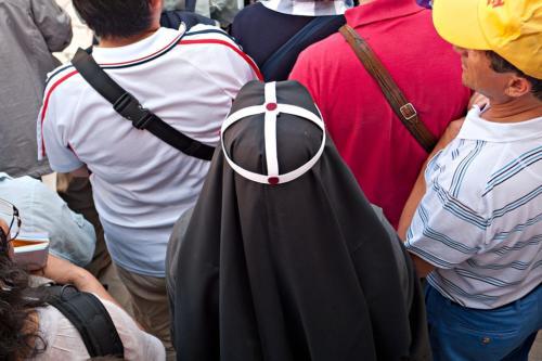 Nonne vom Orden der Birgittinnen