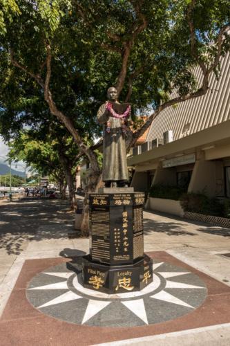 Oahu, Honolulu, Chinatown, Statue von Dr. Sun Yat-sen