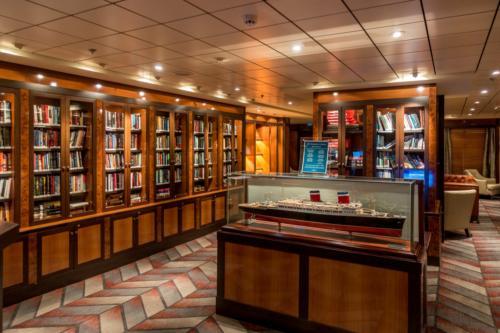 NCL Pride of America, S.S. America Bibliothek