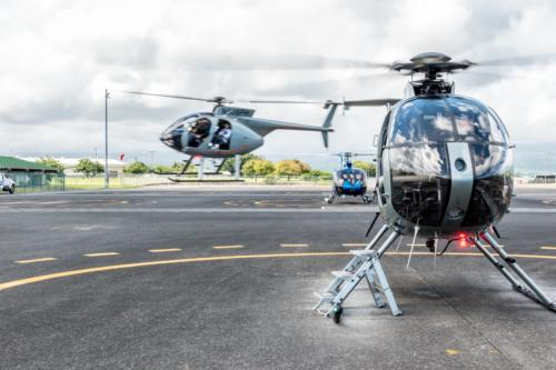 Big Island, Paradise Helicopters Hughes MD500E