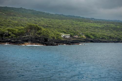 Big Island, südlich von Kona