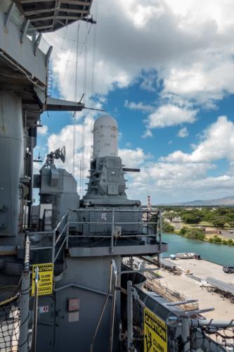 USS-Missouri, Phalanx CIWS