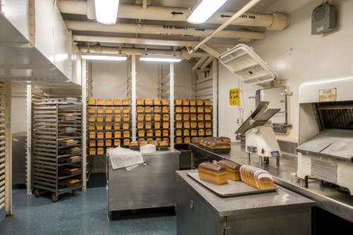 USS-Missouri, Bäckerei