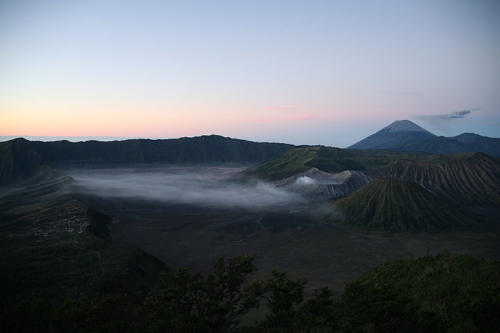 Vulkan Bromo von Pananjakan