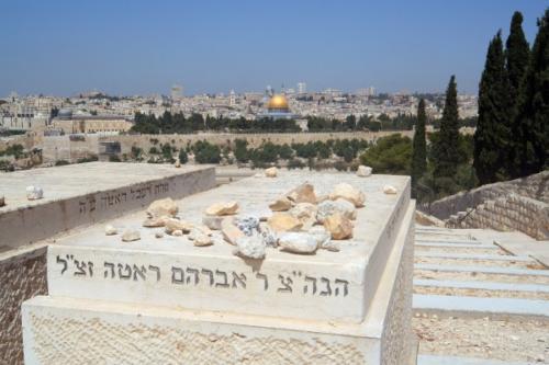 Jüdische Gräber am Ölberg