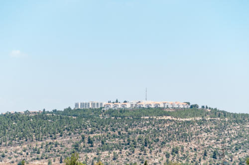 Neubauten in West-Jerusalem