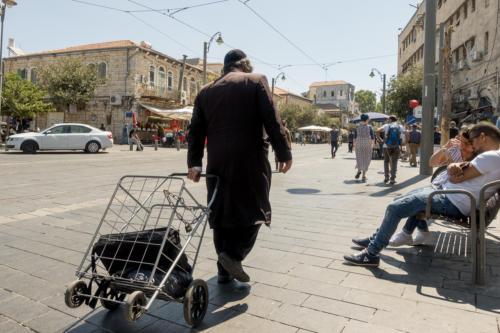 Jerusalem - Jaffa-Strasse
