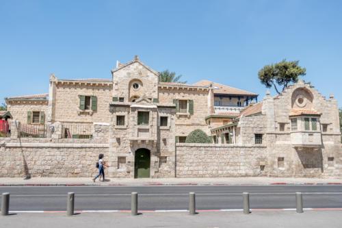 Jerusalem - Tabor-Haus (Architekt Conrad Schick)