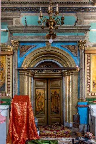 Jerusalem - In der Äthiopischen Kirche (Architekt Conrad Schick)