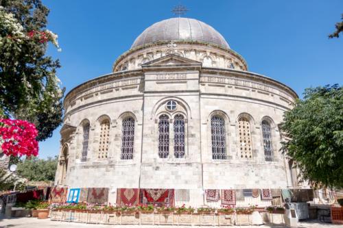 Jerusalem - Äthiopische Kirche (Architekt Conrad Schick)