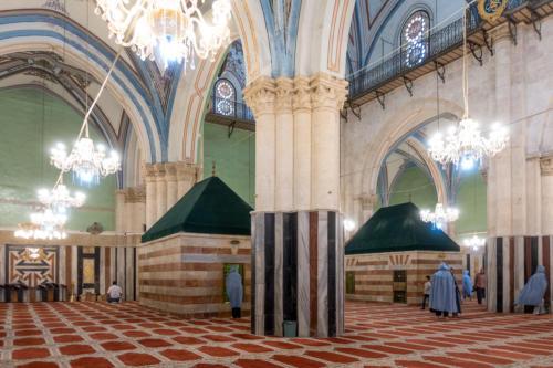 Hebron - Gräber der Patriarchen - islamischer Teil