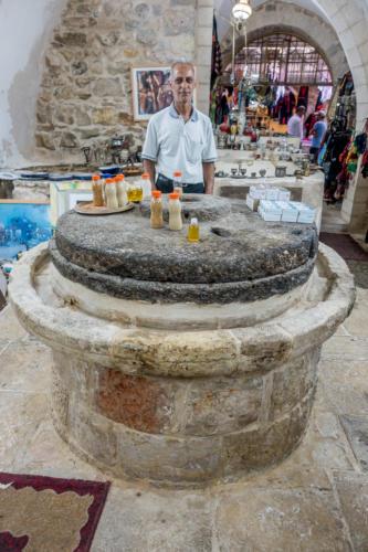 Hebron - Ölmühle im Markt
