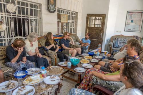 Hebron - Mittagessen bei einer muslimischen Familie
