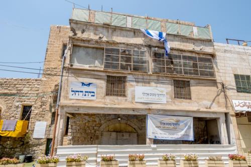 Hebron - Jüdisches Haus an der Shuhada-Strasse