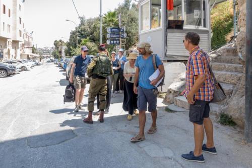Hebron - Checkpoint bei Beit Hadassa