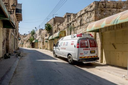 Hebron - Shuhada-Strasse