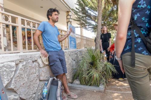 Hebron - Reiseleiter Yahav bei Tel Rumeida