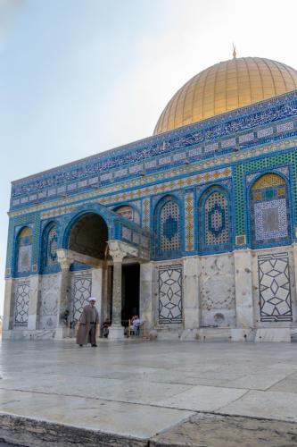 Jerusalem - Vor dem Felsendom
