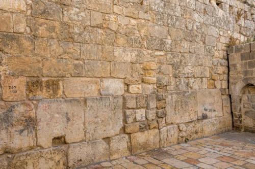 Jerusalem - Kleine Klagemauer