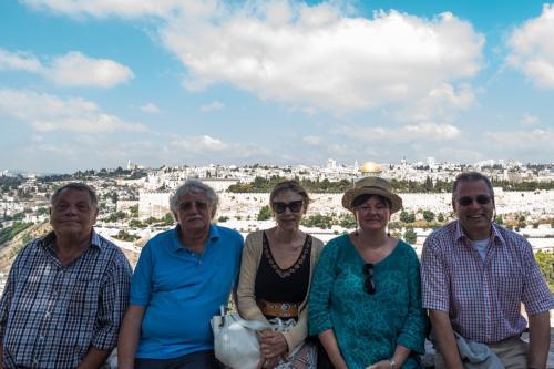 Die Reisegruppe: Dr. Böhm, Rottmann, Dr.Bräu, Stahler, Niggemann