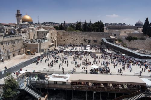 Klagemauer, Felsendom und Al-Aqsa-Moschee