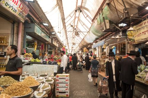 Mahane-Yehuda-Markt in West-Jerusalem