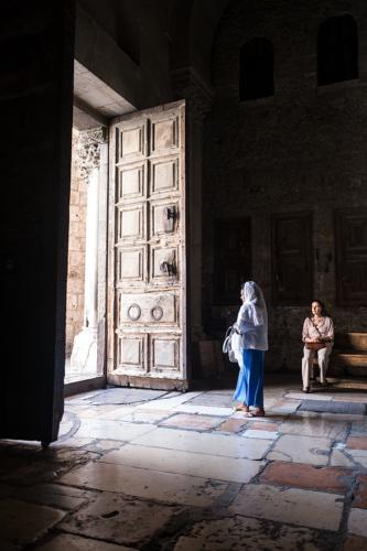 Tor der Grabeskirche