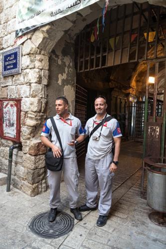 Mitarbeiter der Temporary International Presence in Hebron