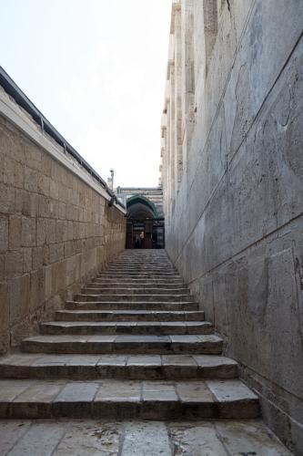 Hebron: Aufstieg zur Abraham-Moschee