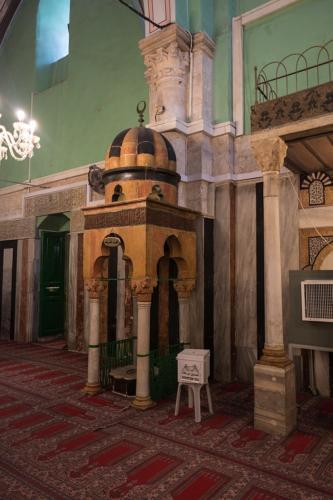 Hebron: Abraham-Moschee, Zugang zu den Höhlen