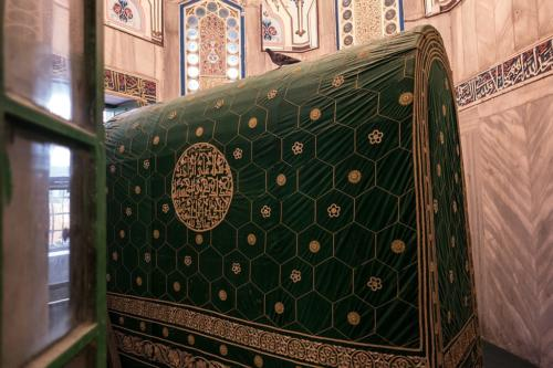 Hebron: Abraham-Moschee, Kenotaph von Abraham