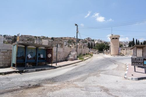 Hebron: Am Checkpoint