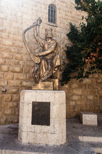 Statue König Davids