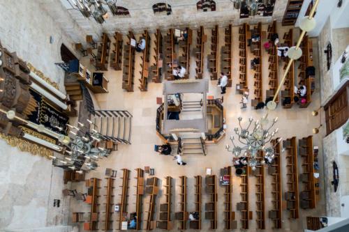 In der Hurva-Synagoge