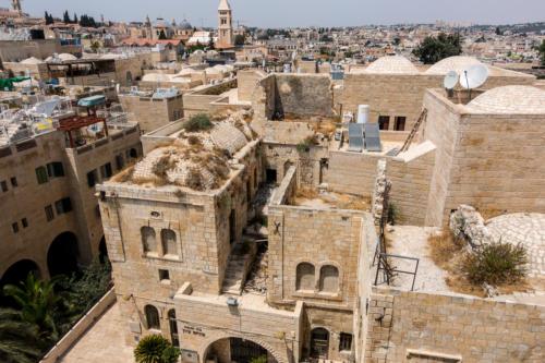 Blick von der Hurva-Synagoge Richtung Grabeskirche