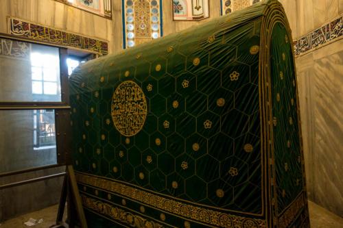 Hebron, Grab der Patriarchen, Grab von Abraham/Ibrahim