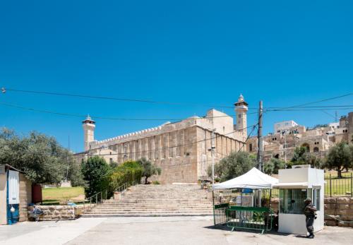 Hebron, Grab der Patriarchen, jüdischer Zugang