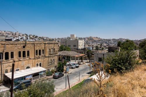 Hebron, Blick auf Beit Romano