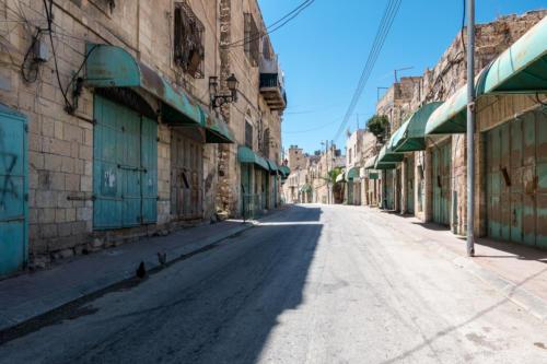Hebron, der geschlossene Markt