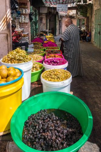 Im Markt von Hebron