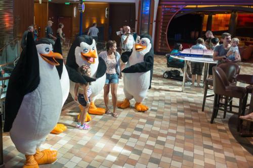 """Allure of the Seas: Die Pinguine aus """"Madagascar"""""""