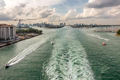 Ausfahrt aus Miami