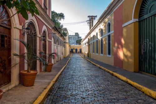 Strasse in San Juan