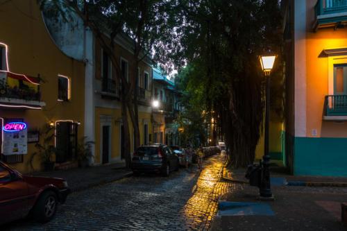 Abend in San Juan