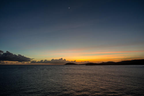 Sonnenuntergang in St.Thomas