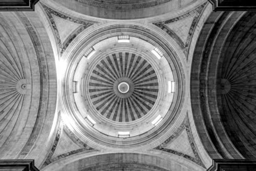 Kuppel des Panteão Nacional